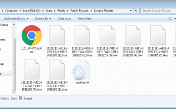 encrypted files