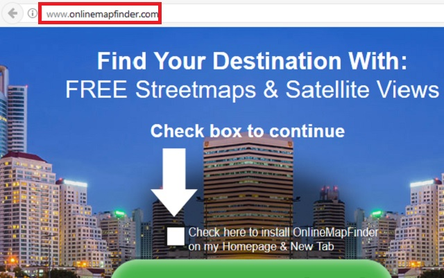 Remove Online Map Finder