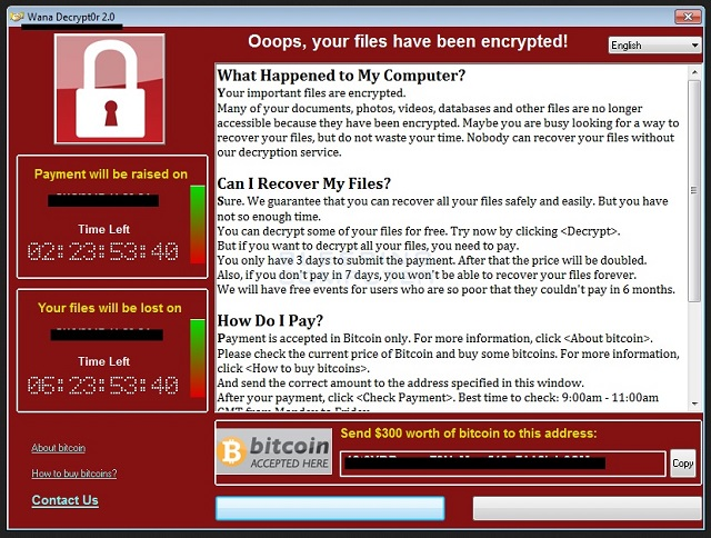 Remove WannaCrypt0r 2.0 Ransomware