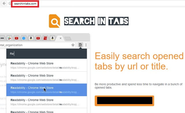 Remove Search In Tabs