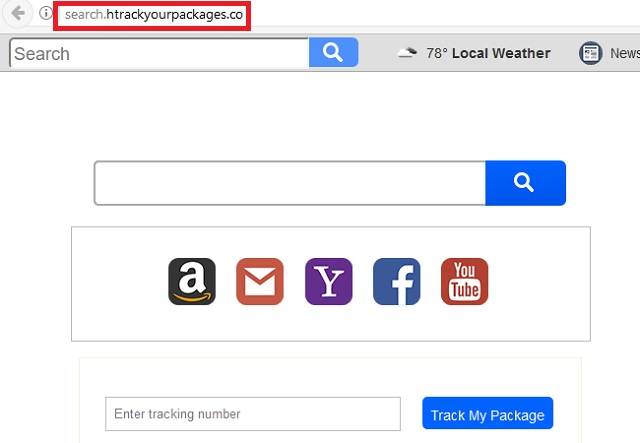Remove Search.htrackyourpackages.co